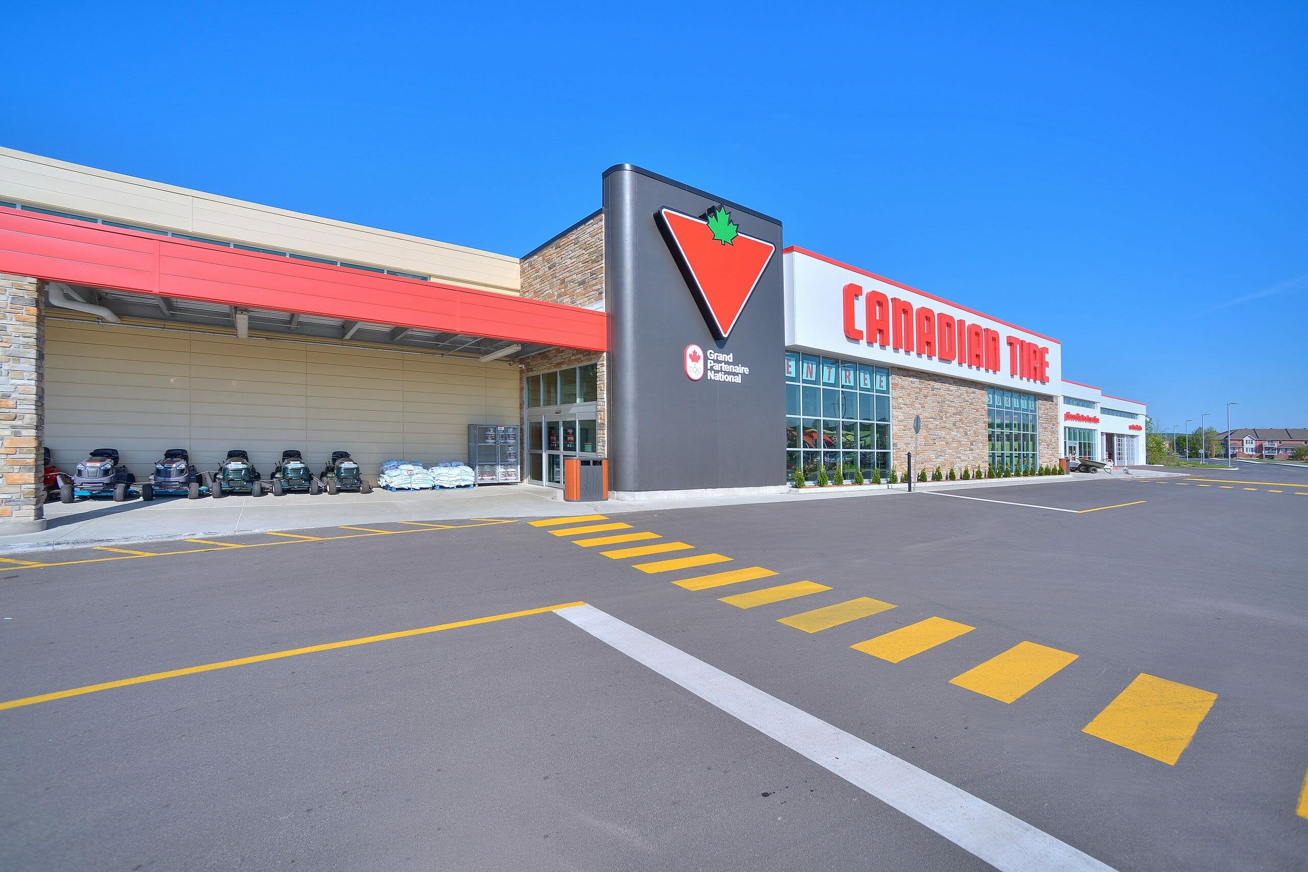 Production | Canadian Tire Plateau | Beaudoin Canada